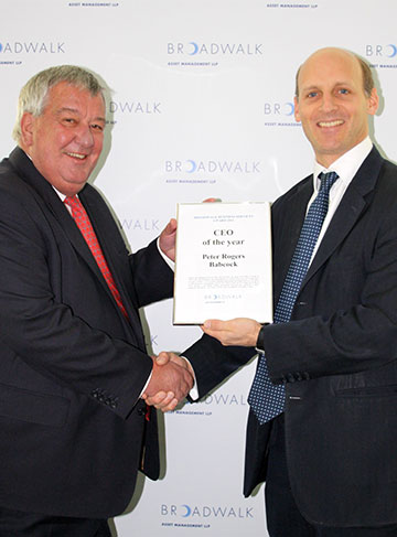 CEO and Executive Team of the Year Award Presentation 2011