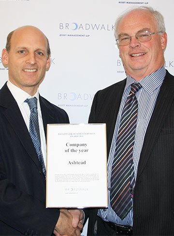 Company of the Year Award Presentation 2011